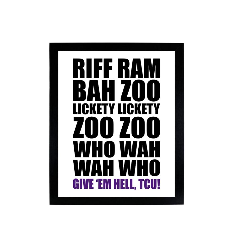 Riff Ram Bah Zoo