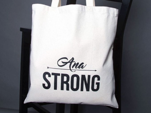 Ana Strong – custom tote bag