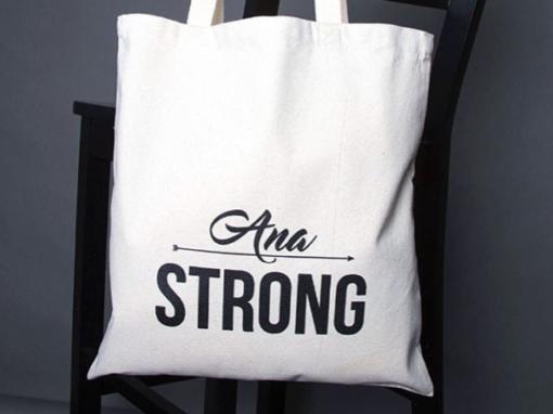 Ana Strong – custom tote bag