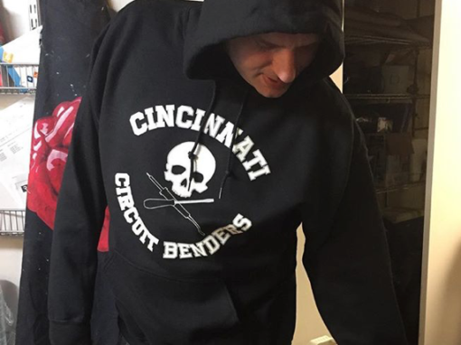 Cincinnati Circuit Benders hoodie