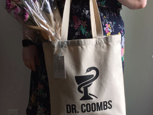 Dr. Coombs Custom Tote Bag