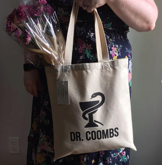 Dr. Coombs Custom Tote Bag