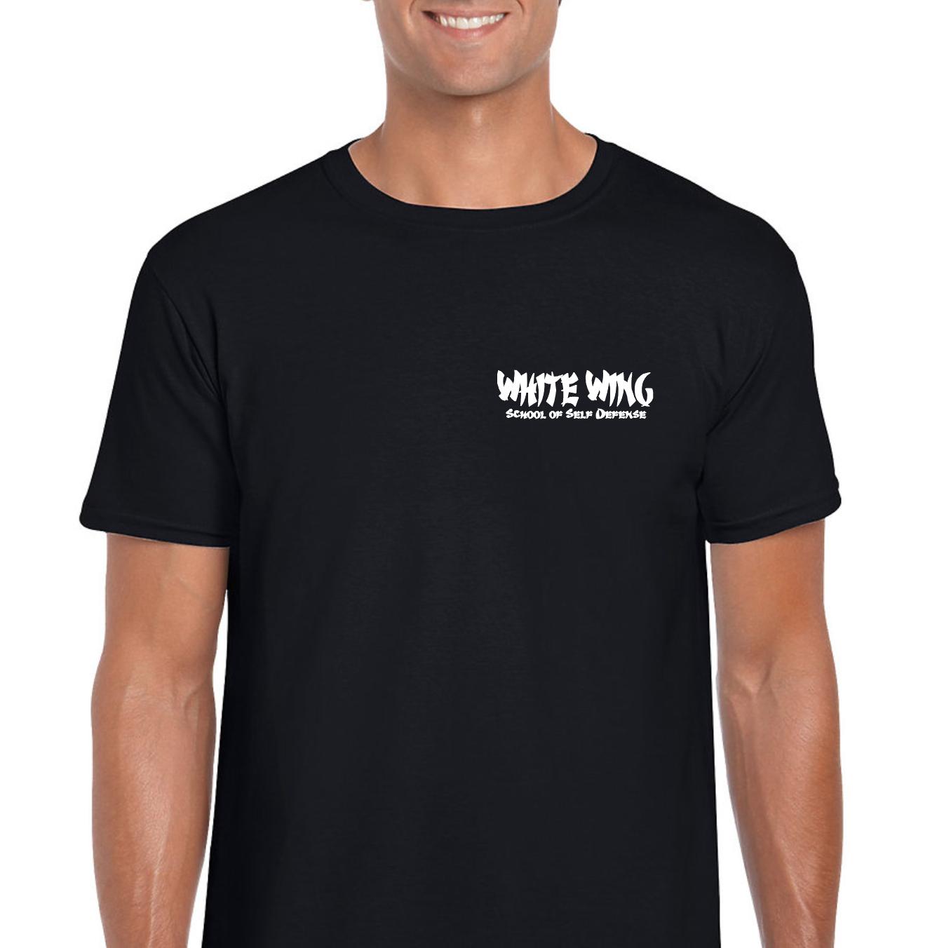 Gildan SoftStyle Tshirt BLACK (front)