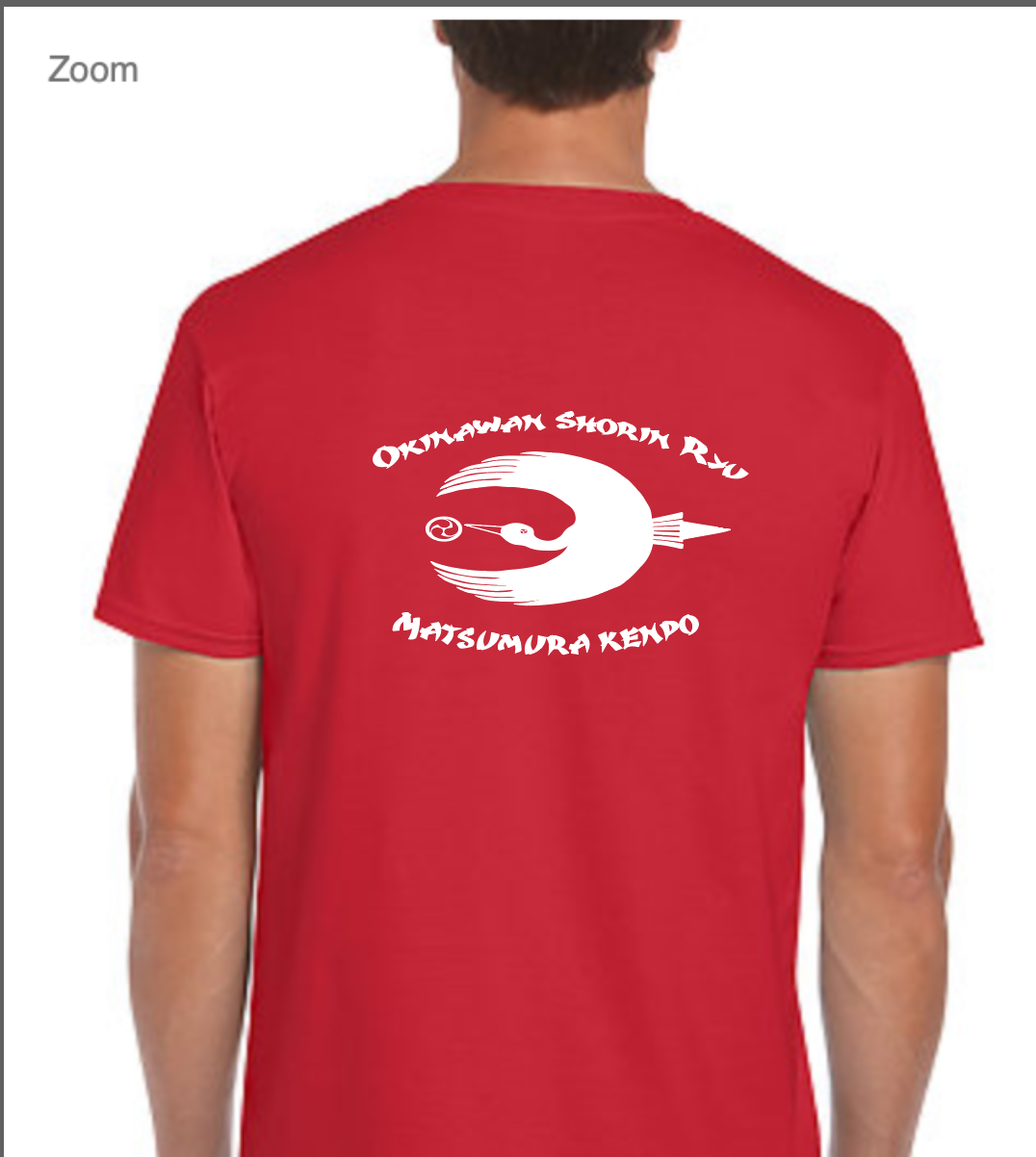 Gildan SoftStyle Tshirt RED (back)