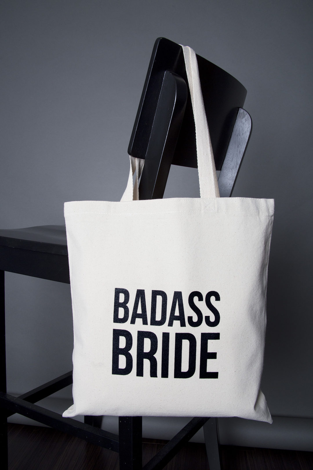 Badass Bride tote bag