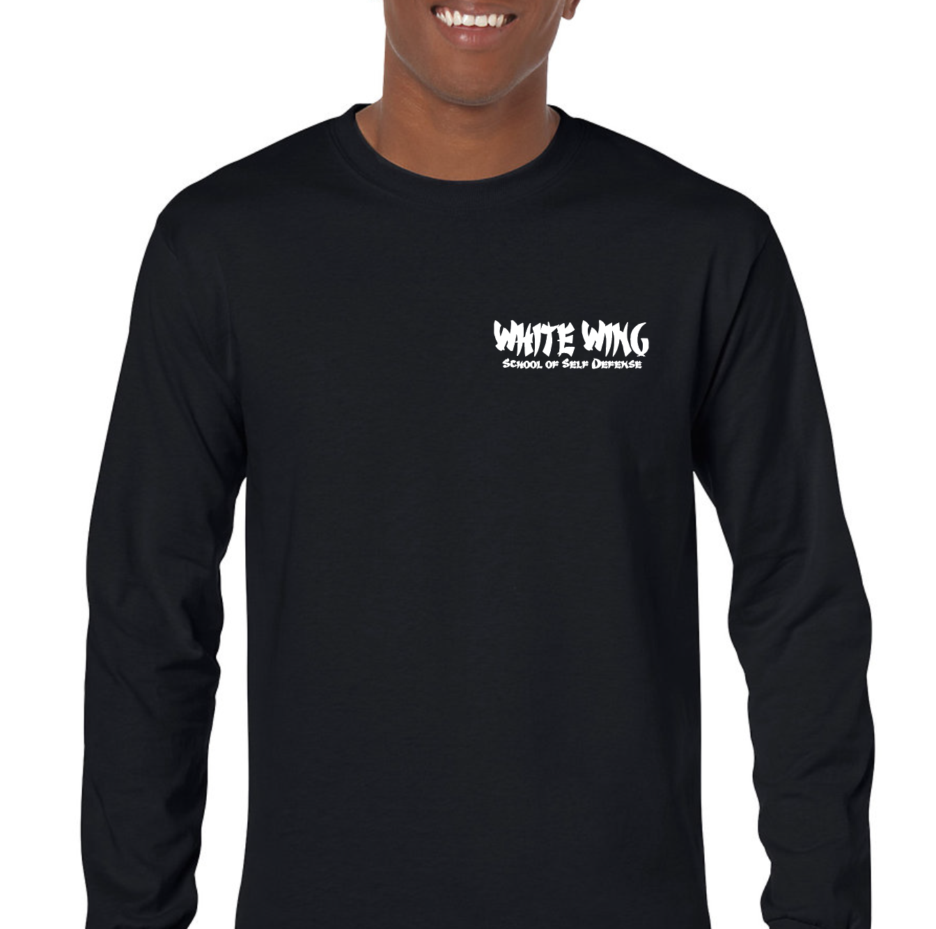 Long Sleeve BLACK (front)