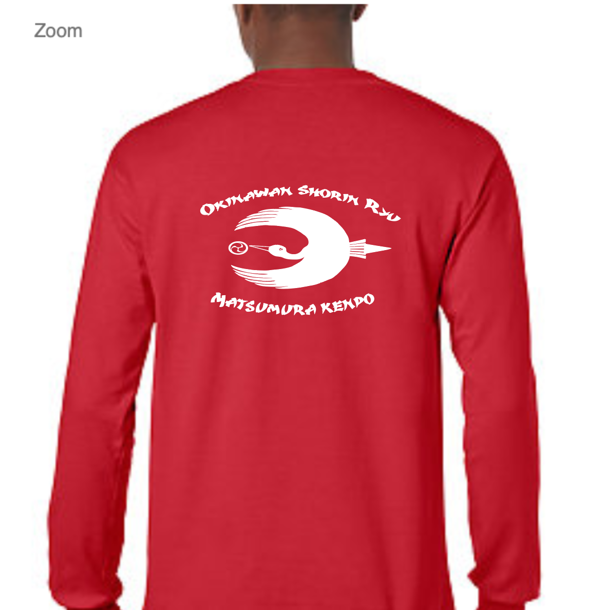 Long Sleeve RED (back)