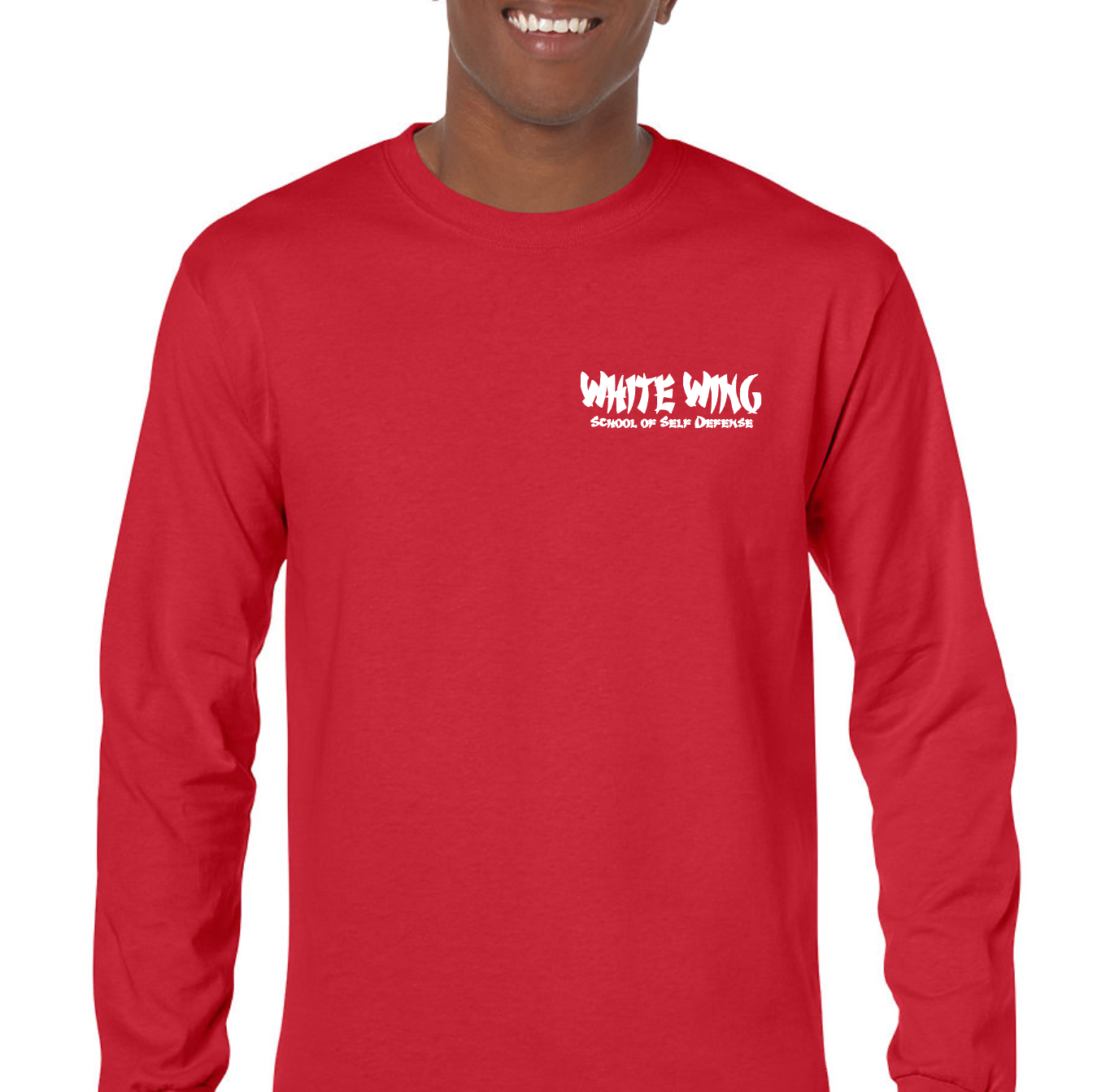 Long Sleeve RED (front)